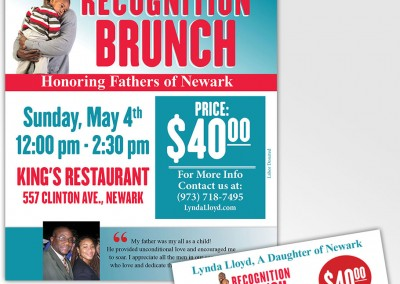 Recognition Brunch Flyer and Tix